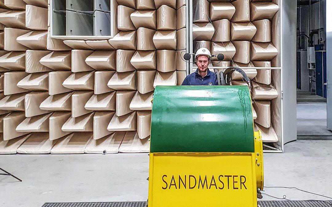 Examen réussi pour nos machines d'entretien du sable